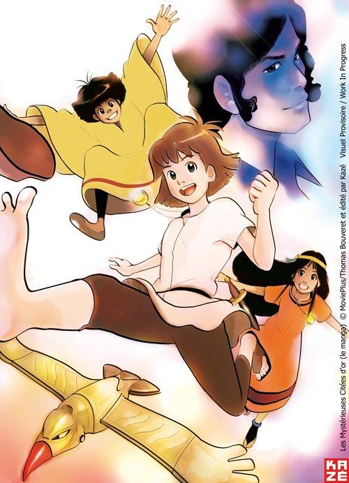 Les Mystérieuses cités d'or 2 - Page 2 Manga-ok