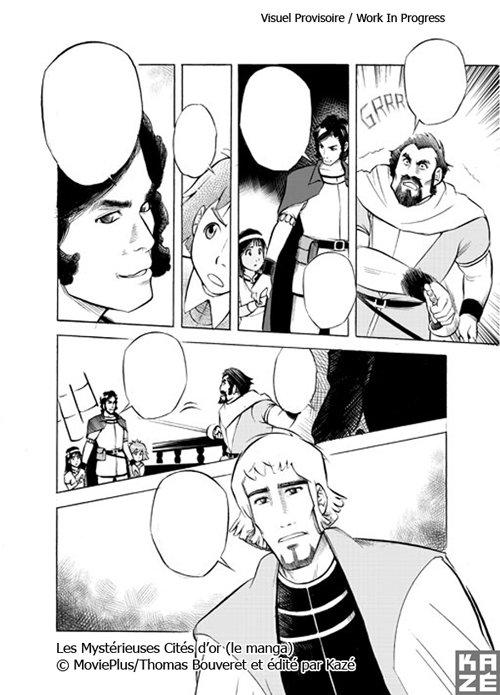 Les Mystérieuses cités d'or 2 - Page 2 Manga23